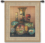 Elkingtons Cloisonne Wall Tapestry