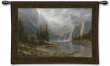 Mountain Heights Wall Tapestry by Jon McNaughton