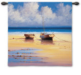 Restful Moorings Wall Tapestry by David Short