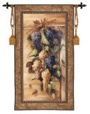 Poetic Grapes Wall Tapestry by Riccardo Bianchi