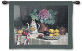 Still Life with Coffee Wall Tapestry by P. Moran