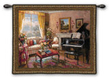 The Music Room Wall Tapestry by Foxwell
