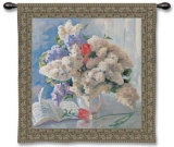 Flowers by Strauss Wall Tapestry by Valeriy Chuikov
