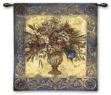 Tuscan Urn Wall Tapestry by Elizabeth Jardine