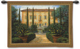 Italian Villa Wall Tapestry by Jon McNaughton