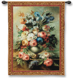 Mother's Bouquet Wall Tapestry by Riccardo Bianchi