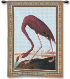 Greater Flamingo Wall Tapestry by John James Audubon