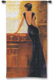Poise Wall Tapestry by Miguel Dominguez