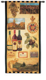 País de vino I Tapiz por Elizabeth Jardine