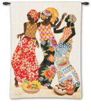Jubilation Wall Tapestry by Keith Mallett