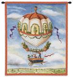 Gardeners Wall Tapestry by Alexandra Churchill