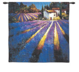 Evening Light in Provence Wall Tapestry by Nancy O'toole