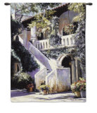 Balcony de la Flora Wall Tapestry by Mary Schaefer