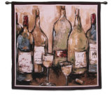 Wine Bar Wall Tapestry by Nicole Etienne