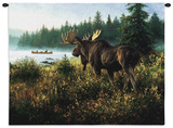 In His Domain Wall Tapestry by Robert Duncan