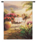 Courtyard View II Wall Tapestry by Roberto Lombardi
