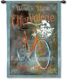 Chez Valerie Wall Tapestry by Fabrice De Villeneuve