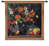Poppies Wall Tapestry by Leif Ostlund