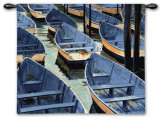 Docked Wall Tapestry by Roger Bansemer