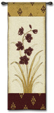 Kimono Orchid Plum I Wall Tapestry by  Regina-Andrew Design