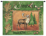 Caribou Wall Tapestry by Anita Phillips