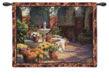 La Fuente Seca Wall Tapestry by J. Chris Morel