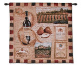 Wine Land I Wall Tapestry by Elizabeth Jardine