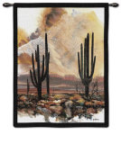 Sonoran Sentinels Wall Tapestry by Adin Shade
