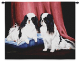 Japanese Spaniel Wall Tapestry by Robert May