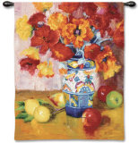 Poppies Galore Wall Tapestry