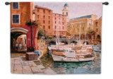 Mediterranean Colors Wall Tapestry by George W. Bates