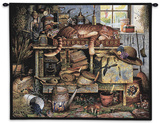 Remington the Horticulturist Wall Tapestry by Charles Wysocki