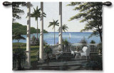 Caribbean Comfort Wall Tapestry by Bill Saunders