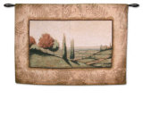 Cypress Vista I Wall Tapestry by Mark St. John
