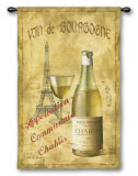 Chablis '27 Wall Tapestry by Fabrice De Villeneuve