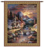 Early Service Wall Tapestry by James Lee