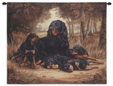 Gordon Setter Wall Tapestry by Robert May