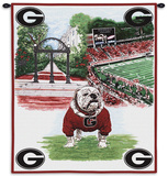 Uga on My Mind Wall Tapestry