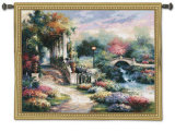 Classic Garden Retreat Wall Tapestry by James Lee