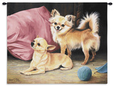 Chihuahua Wall Tapestry by Robert May