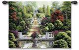 Jardín de rosas I Tapiz por Betsy Brown