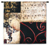 Autumn Waltz II Wall Tapestry by Elizabeth Jardine