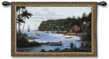 Island Paradise Wall Tapestry by Bill Saunders