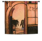 Exotic Retreat I Wall Tapestry by A. Santana