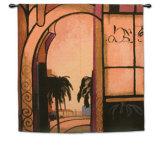 Exotic Retreat I Wall Tapestry by A. Santana