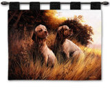 Clumber Spaniel Wall Tapestry by Robert May