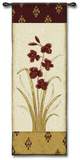 Kimono Orchid Crimson I Wall Tapestry by Regina-Andrew Design 
