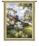 Morning Retreat Wall Tapestry by Alberto Pasini
