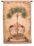 Sunrise Palm Wall Tapestry by Elizabeth Jardine