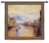 Grand Canal Wall Tapestry by Curt Walters